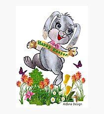 Bunny wishes Photographic Print