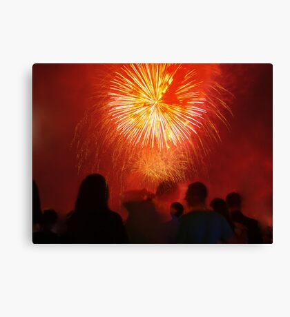 the red strangers Canvas Print