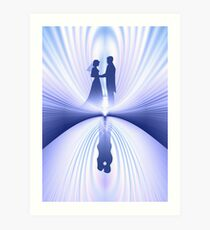 Wedding Couple Art Print