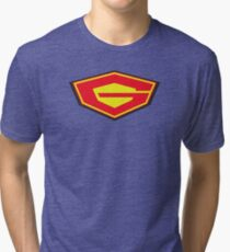 Science Ninja Team Gatchaman - G-FORCE - JUST THE G ! Tri-blend T-Shirt
