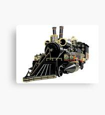 Back to the Future Train Canvas Print