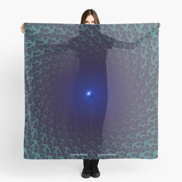 GALLIMAUFRY ~ D1G1TAL-M00DZ ~ Exploding Crucible by tasmanianartist Scarf