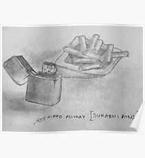 zippo ashtray Poster