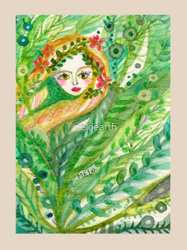Hidden Mermaid by meloearth