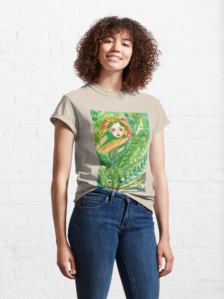 Alternate view of Hidden Mermaid Classic T-Shirt