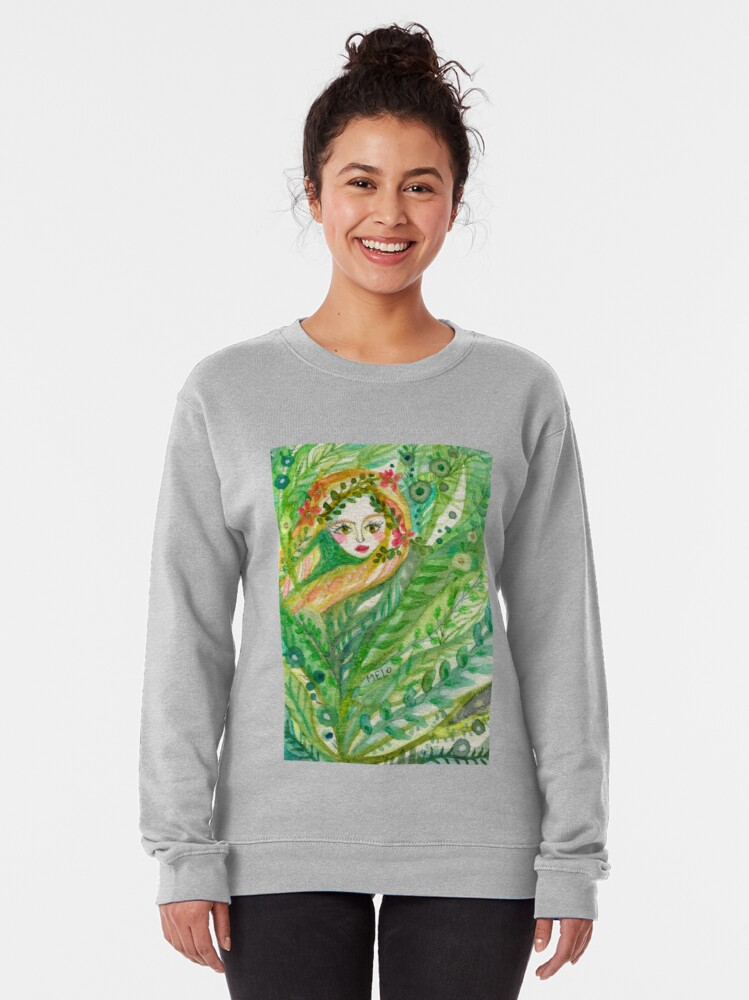 Alternate view of Hidden Mermaid Pullover Sweatshirt