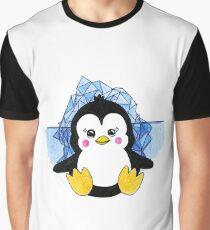 Cute Baby Penguin Animal Art Design Graphic T-Shirt