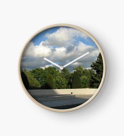 Ende des Tages Uhr