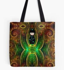 Dimensions of the inner world Tote Bag