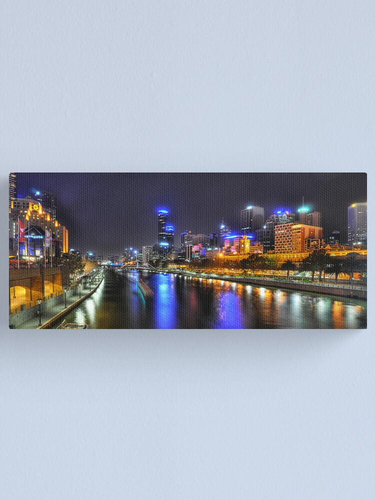Alternate view of Melbourne Canvas Print