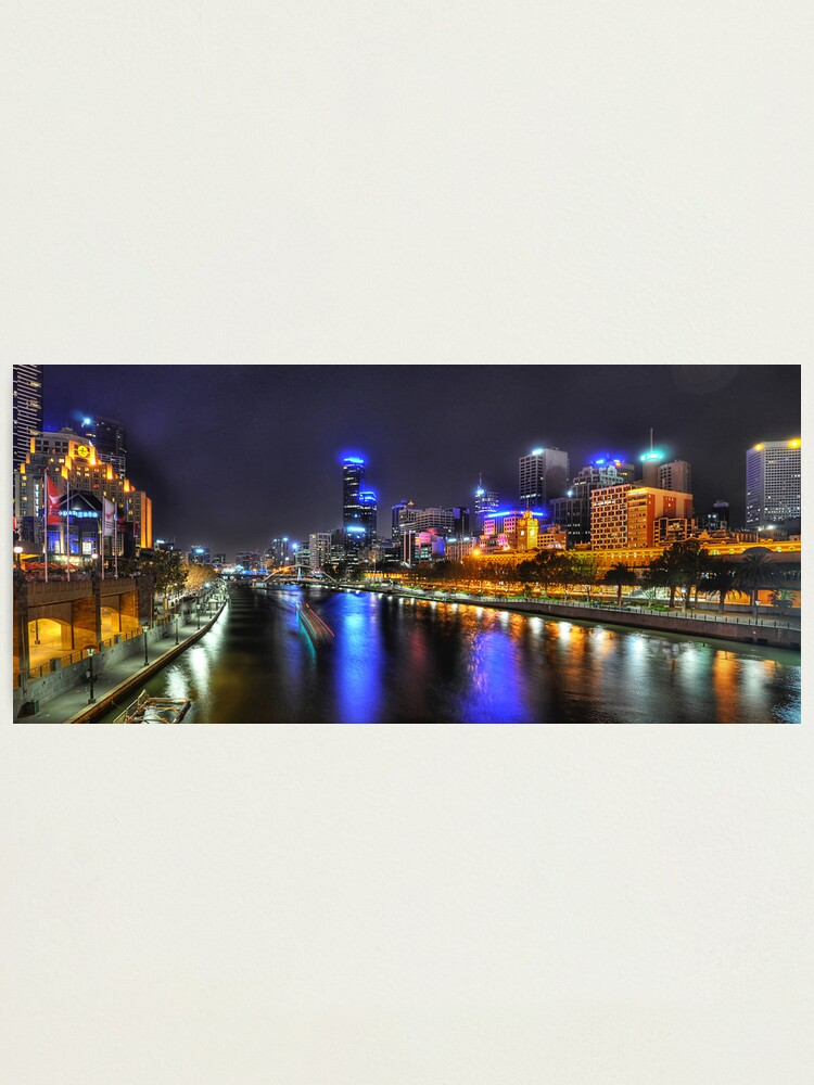Alternate view of Melbourne Photographic Print