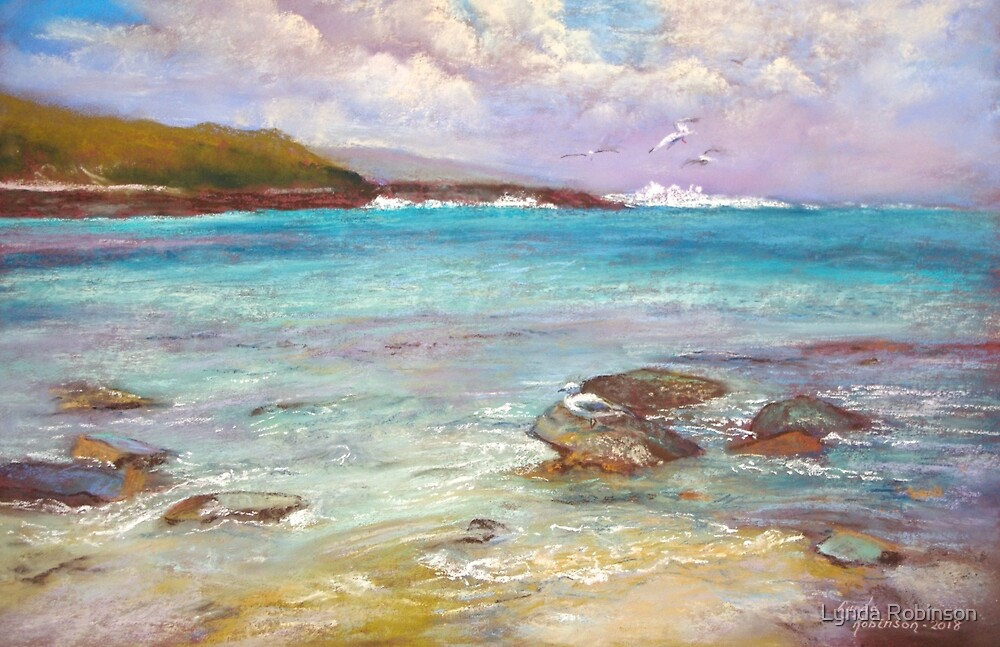 Ripples on the Shore  by Lynda Robinson