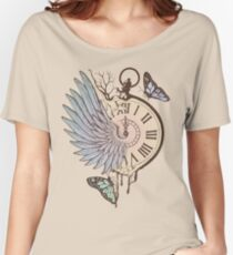Le Temps Passe Vite (Time Flies) Women's Relaxed Fit T-Shirt