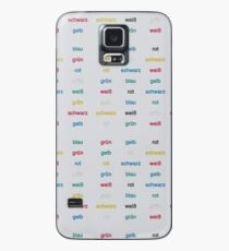 Stroop Effekt deutsch Hülle & Skin für Samsung Galaxy