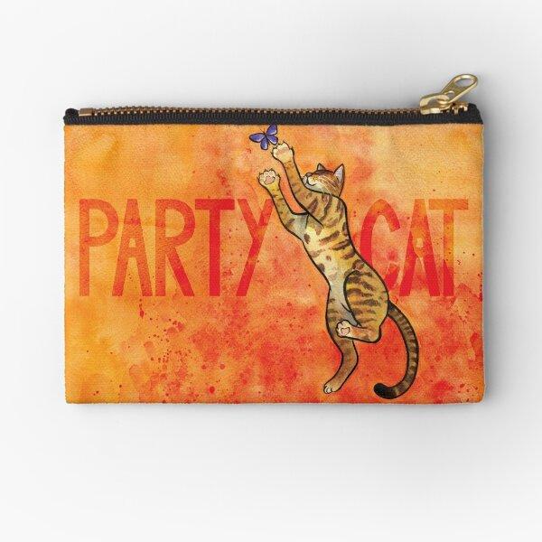 Party Cat Zipper Pouch