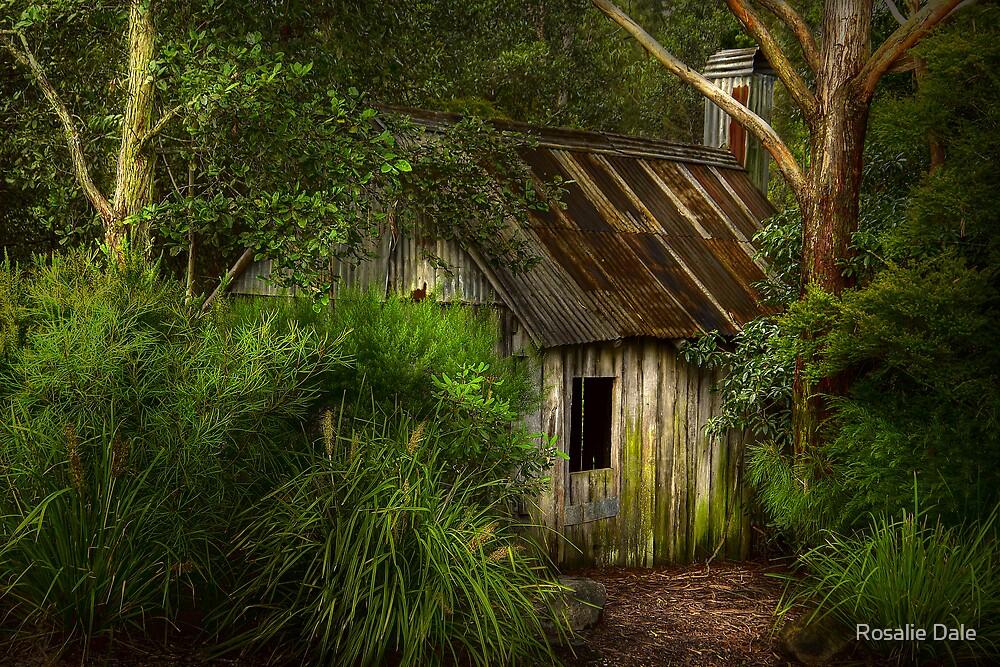 The Slab Hut No 2 by Rosalie Dale