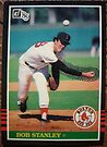 372 - Bob Stanley by Foob's Baseball Cards