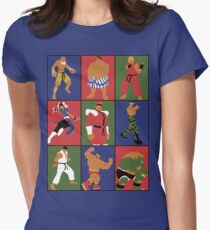 Street Fighting Crew Women's Fitted T-Shirt