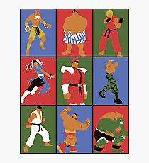 Street Fighting Crew Photographic Print