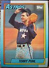 373 - Terry Puhl by Foob's Baseball Cards