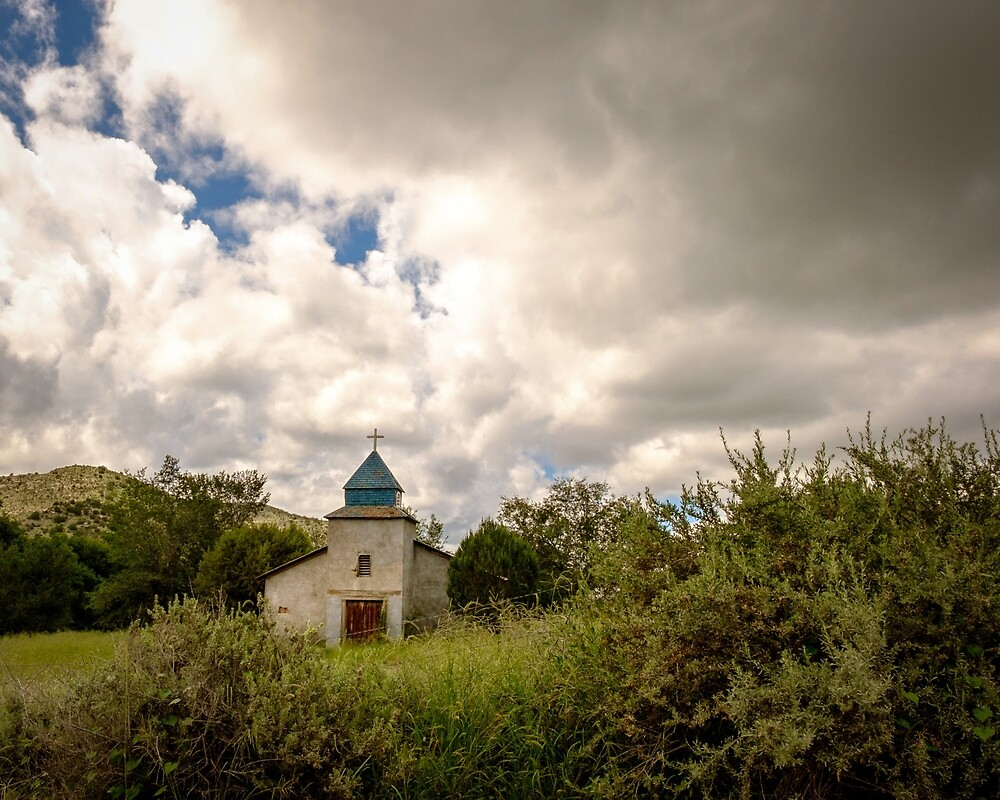 Old church in mountains by CBott