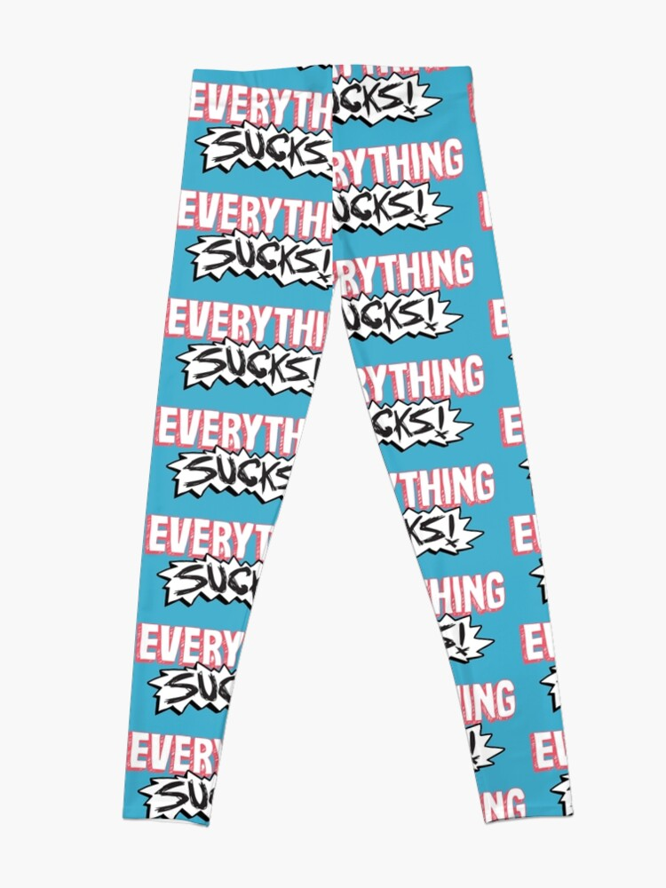 Alternate view of Everything Sucks! Leggings