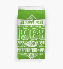 I was born in 1968 Duvet Cover