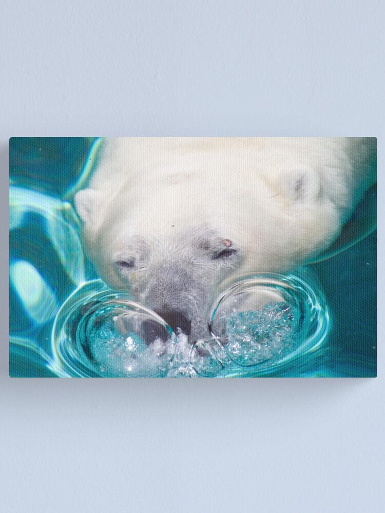 Alternate view of Bubbles Canvas Print