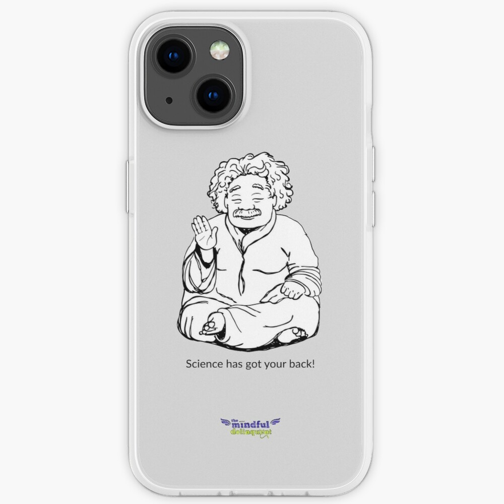 Science has got your back! iPhone Case