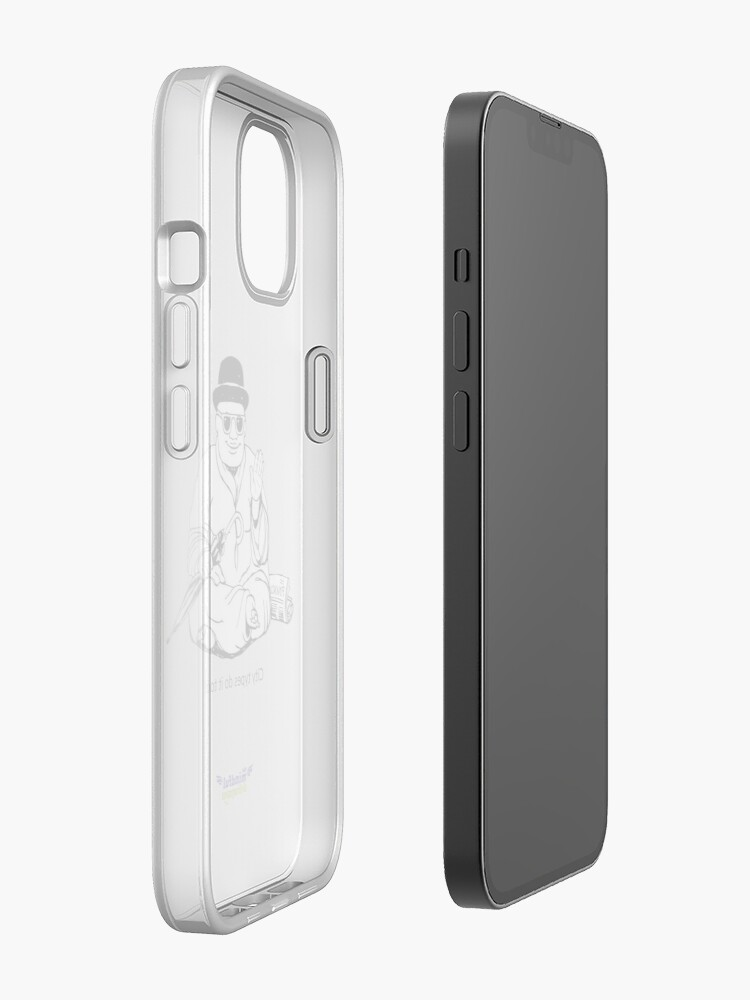 Alternate view of City types do it too! iPhone Case