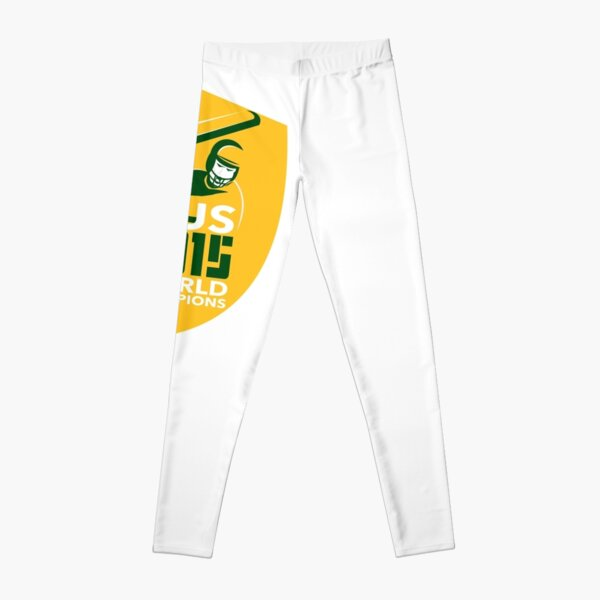 Australia Cricket 2015 World Champions Shield Leggings
