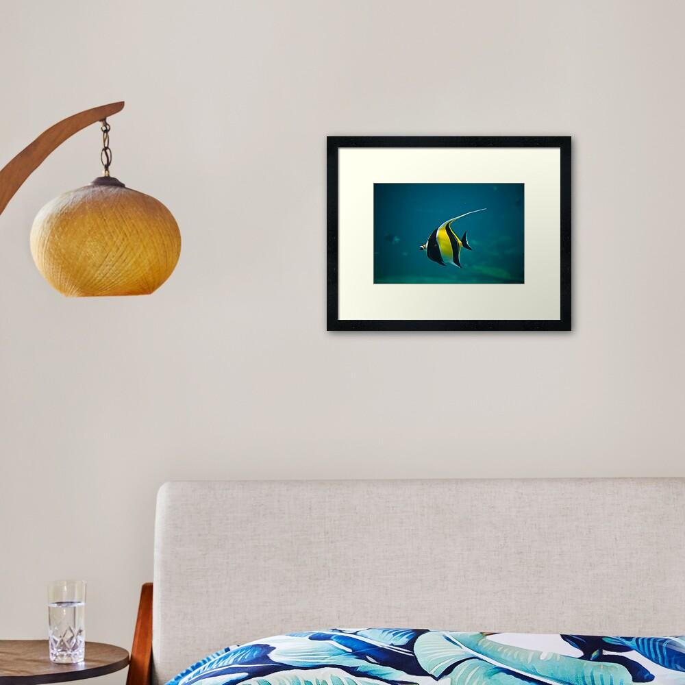 Wanda Framed Art Print