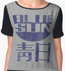 Blue Sun Vintage Style Shirt (Firefly/Serenity) Chiffon Top