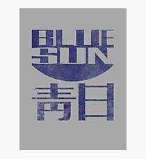 Blue Sun Vintage Style Shirt (Firefly/Serenity) Photographic Print