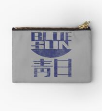 Blue Sun Vintage Style Shirt (Firefly/Serenity) Studio Pouch
