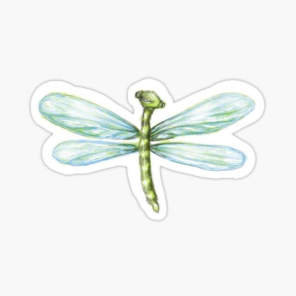 Cute Dragonfly Sticker