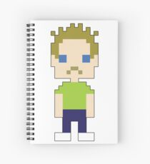 A Notebook! With Steve on it! Spiral Notebook