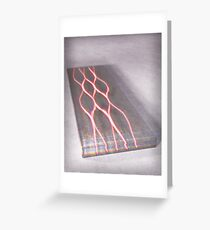 Photon Waveguide Greeting Card
