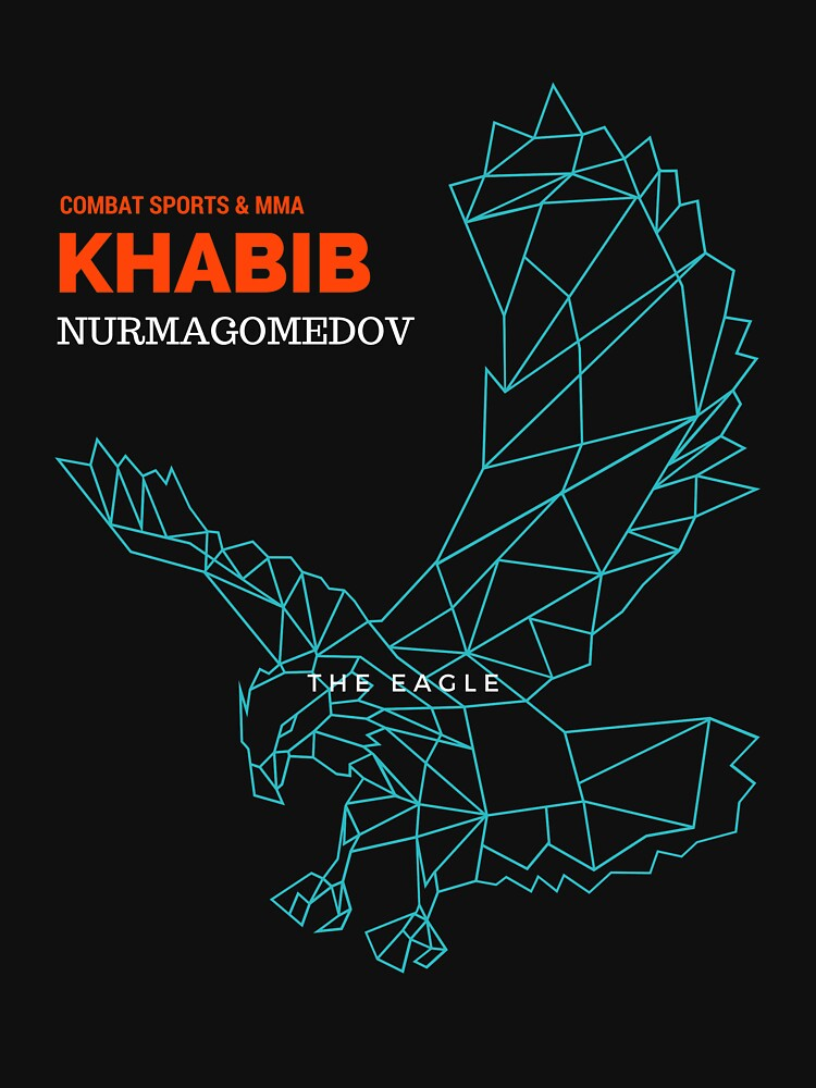 KHABIB NURMAGOMEDOV TIME MMA SHIRT by vicekingwear