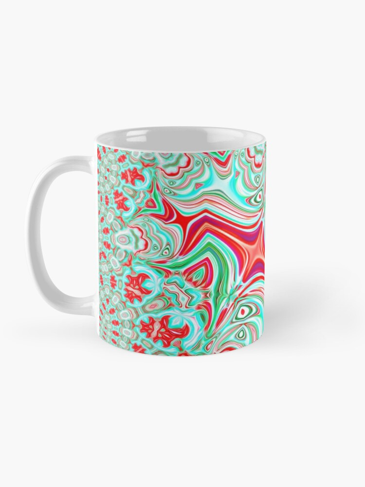 Alternate view of Abstract Bat Mug