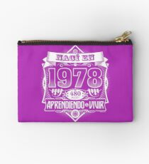 I was born in 1978 Studio Pouch