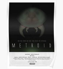 Below Zebes - Metroid Poster Poster