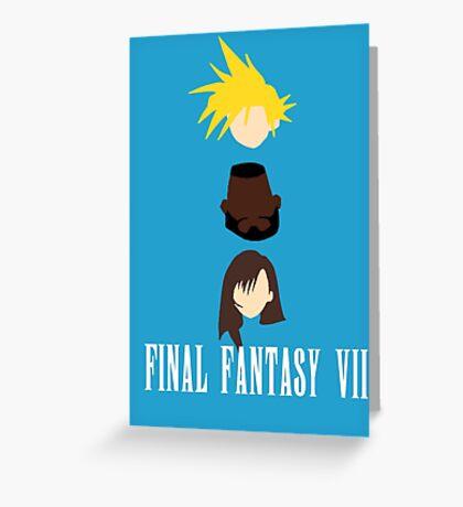 BFF (Best Final Fantasy) Greeting Card