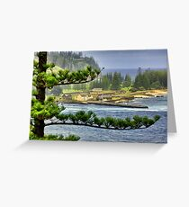 Kingston Penal Settlement and Norfolk Island Greeting Card