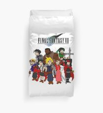FF7 Characters Duvet Cover