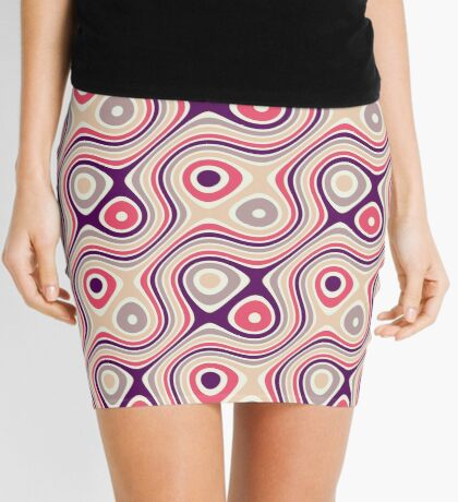 Patrón retro Minifalda