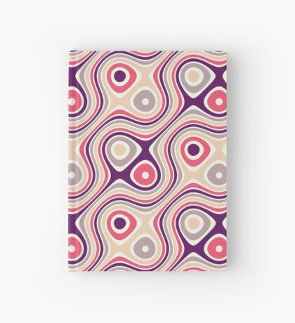 Patrón retro Cuaderno de tapa dura