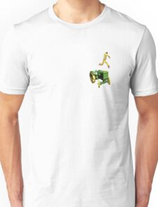 the 100 meter tractor jump T-Shirt