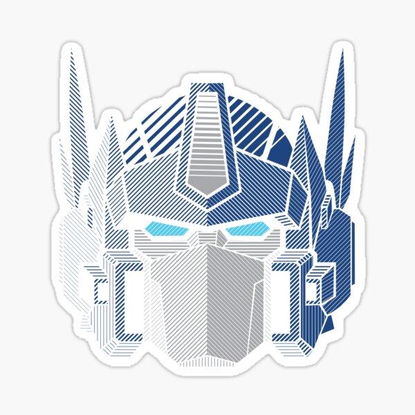 026b Optimus Prime Sticker