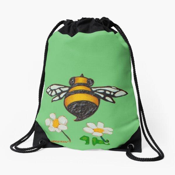Bees (buzz detail) Drawstring Bag